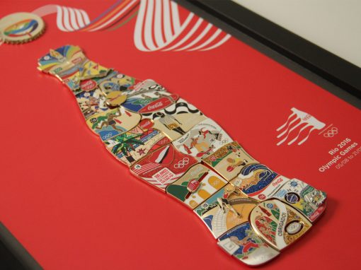 Coca-Cola Pins Olimpicos